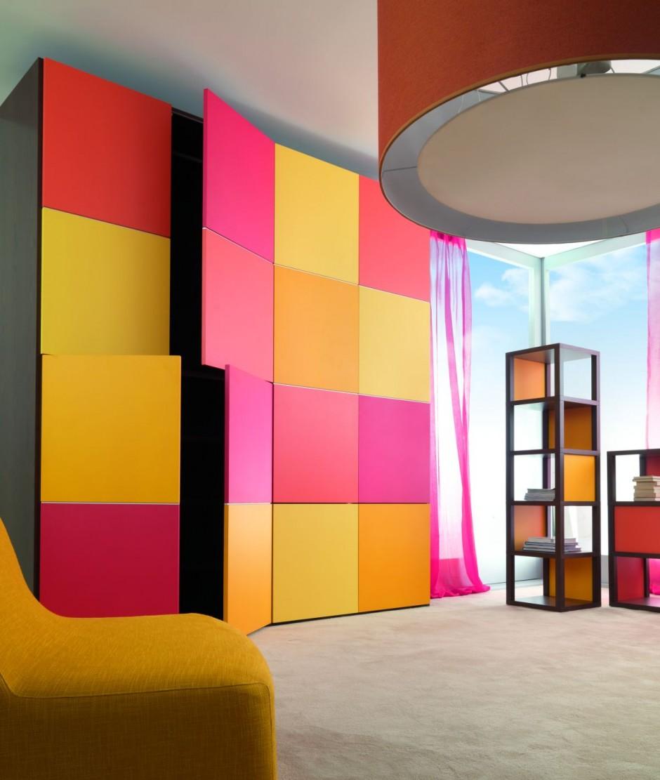Farbe in Möbeln